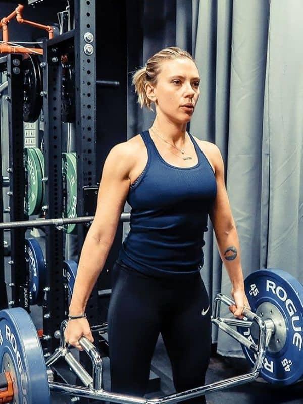 Scarlett Johansson Workout