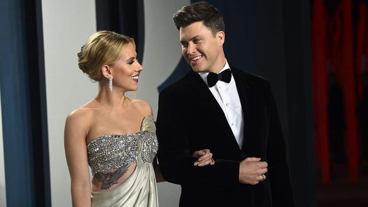 Scarlett Johansson husband 2021