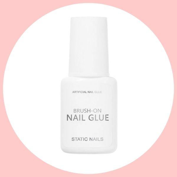 Static Nails Brush-on Nail Glue